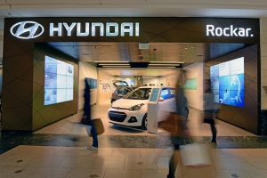 New Hyundai store in Bluewater Shopping Centre